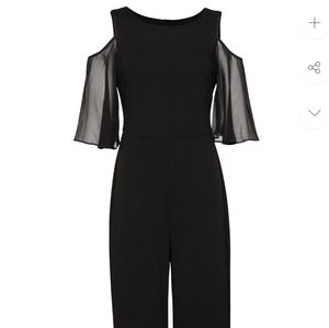 NWT! Navy Connected Apparel Jumpsuit Romper 16W